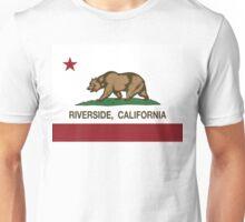 Riverside California Republic Flag Unisex T-Shirt