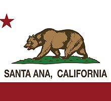 Santa Ana California Republic Flag by NorCal