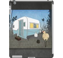 Travel Trailer & Sandhill Crane  iPad Case/Skin