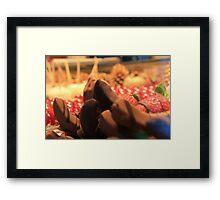 Christmas goodies Framed Print