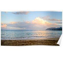 Landscape of the ocean Poster
