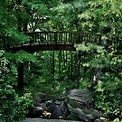 Forest Garden Bridge by enchantedImages