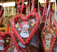 Gingerbread cookies by Katherine Hartlef