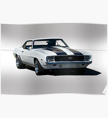 1968 Chevrolet Camaro SS Poster