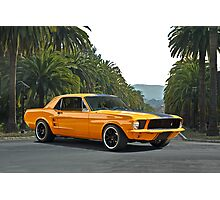 1968 Ford Mustang Coupe Photographic Print