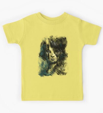 Ink and Color girl Kids Tee