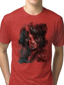 Ink and Color girl Tri-blend T-Shirt