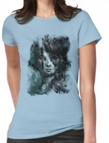 Ink and Color girl Womens Fitted T-Shirt