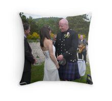 The Vows Throw Pillow