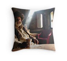 Nice to meet you Throw Pillow