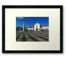 Plaza Vila Real Framed Print