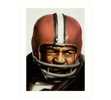 Jim Brown Art Print