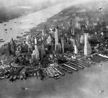 Manhattan, 1931 by cadellin