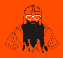 Hipster Dwarf (No Text) by Phosphorus Golden Design