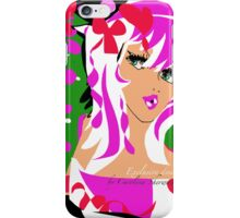 Candy Pink, An Exclusive design by Carolina Sherwani iPhone Case/Skin