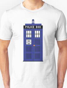 8-Bit TARDIS T-Shirt