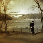 Winter Guitar by Karmyn Tyler Cobb