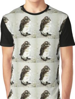 Baby South African Penguin Moulting Graphic T-Shirt