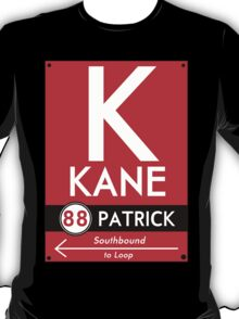 Retro CTA sign Kane T-Shirt
