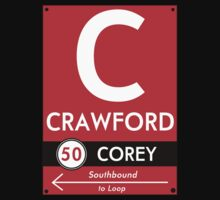 Retro CTA sign Crawford by mightymiked