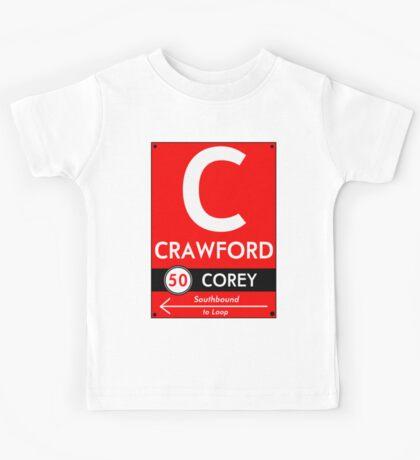 Retro CTA sign Crawford Kids Clothes