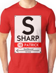 Retro CTA sign Sharp T-Shirt