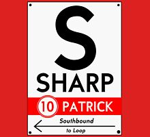 Retro CTA sign Sharp Unisex T-Shirt