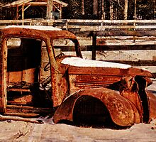 Abandoned Farm Truck by PineSinger