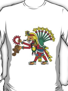 Chicome Xochitl Xochipilli T-Shirt