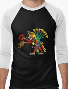 Chicome Xochitl Xochipilli Men's Baseball ¾ T-Shirt