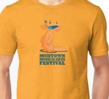 Mudtown Records - Mudtown Music & Arts Festival Muddy With Logo Unisex T-Shirt