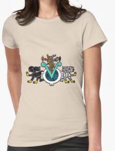 Ome Tochtli Xihuitl Womens Fitted T-Shirt