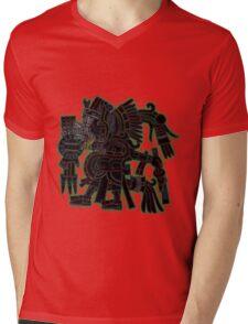Ehecatl Quetzalocoatl Mens V-Neck T-Shirt