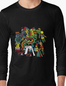Ehecatl Quetzalocoatl Long Sleeve T-Shirt