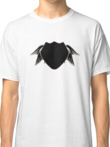 noir angel wing police Classic T-Shirt