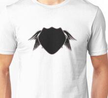 noir angel wing police Unisex T-Shirt