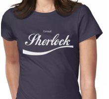 Consult Sherlock Womens Fitted T-Shirt