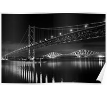 Forth Road and Rail Bridges Poster