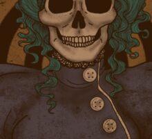 Steampunk Skullgirl Sticker