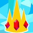 Ice King Crown  by Mixposters