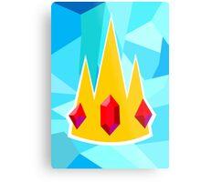 Ice King Crown  Metal Print