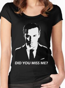 Did You Miss Me? (Dark) Women's Fitted Scoop T-Shirt