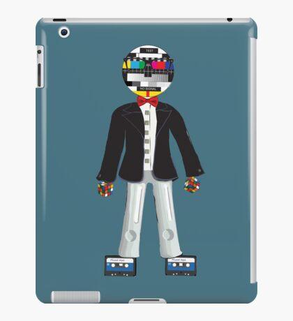 Retro Geek Chic iPad Case/Skin