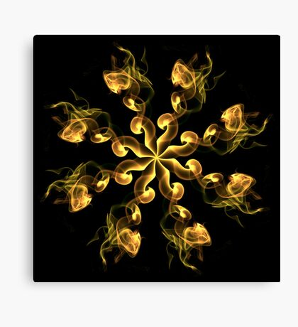 Abstract Smoke Canvas Print