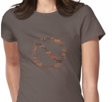On a long enough time line, the survival rate for everyone drops to zero. Womens Fitted T-Shirt