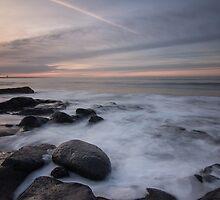 rocks on the beach by JorunnSjofn Gudlaugsdottir