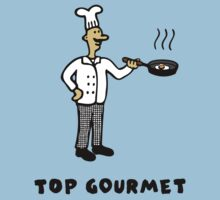 Top Gourmet One Piece - Short Sleeve