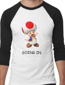 GOING IN. Men's Baseball ¾ T-Shirt