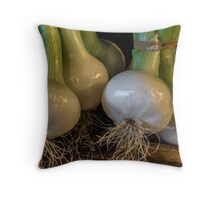 Onions. Throw Pillow