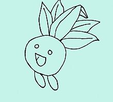 Oddish Sketch by EAMS